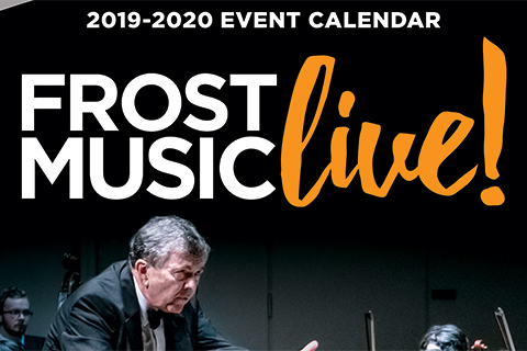 2019-2020 Frost Music Live Brochure